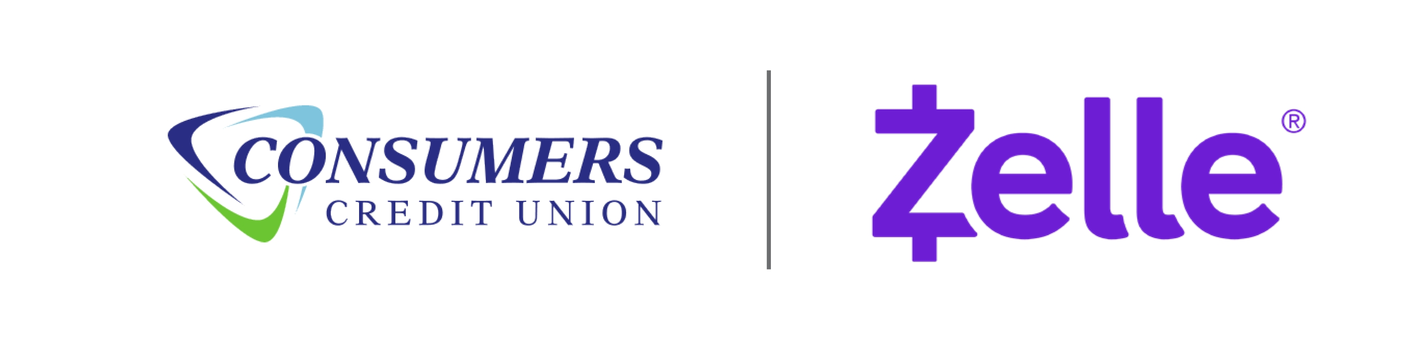 Zelle and Consumers Logos